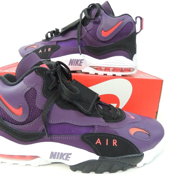 timeless design 43832 6caac Nike Mens Air Max Speed Turf Night Purple Sze 10.5